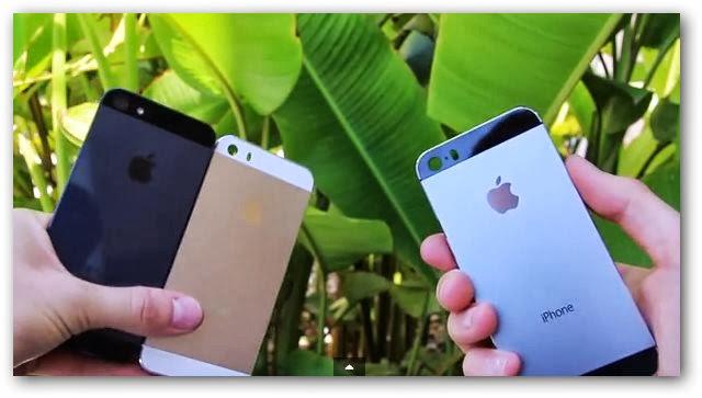 El iPhone 5S se deja ver con todo detalle en dos nuevos vídeos