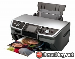 Epson R390 Waste Ink Counter Reset Key