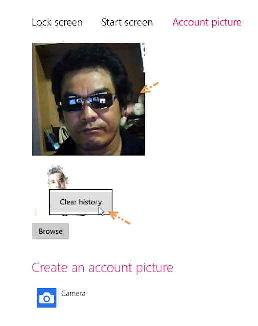 การเปลี่ยนรูปภาพของผู้ใช้ (User Account Picture) ใน Windows 8 W8acpic06