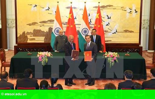 Hình 1: Ấn Độ và Trung Quốc ký nhiều thỏa thuận trị giá hơn 22 tỷ USD