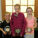 Mass Junior Championships, Jan 3-5, 2014  GU 11: Finalist - Lucie Stefanoni (Darien, CT); Champion - Willow Woodward (Bedford Corners, NY); 3rd Place - Charlotte Bell (Wellesley, MA)