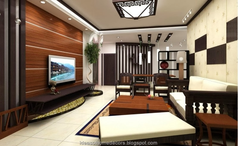 Modern Wooden Wall Units For Living Room
