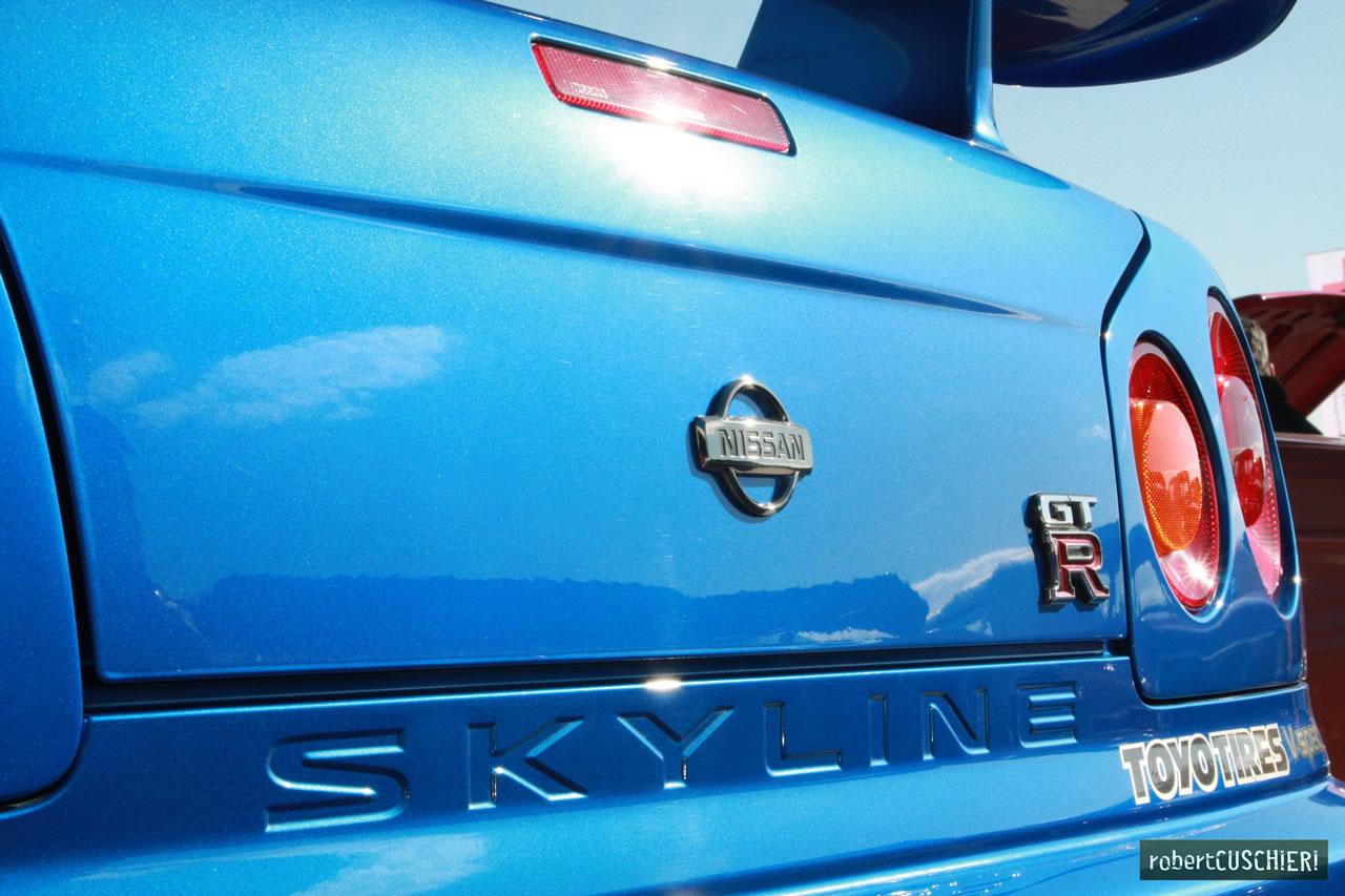 Nissan Skylien R34 Rear