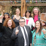 OIC - ENTSIMAGES.COM - Paigey Cakey,Sarah Jane Morris, Kate Smurthaite, Tom Watson, Seema Malhotra, Lynne Franks, Tom Morley at the One Billion Rising For Justice Photo Call at The House of St Barnabas London 10th February 2015 Photo Mobis Photos/OIC 0203 174 1069