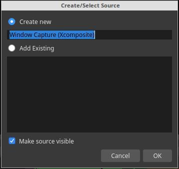 2. Create New Source