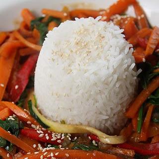 Rainbow Bell Pepper Spaghetti