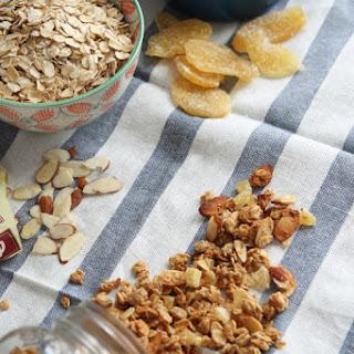Coconut Ginger Almond Granola
