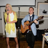 WWW.ENTSIMAGES.COM -     Pola Pospieszalska and Wilfy Williams      at    Christmas with the K9 Angels at The Bridge Pub and Dining Rooms Casteinau Barnes London December 10th 2014                                                 Photo Mobis Photos/OIC 0203 174 1069