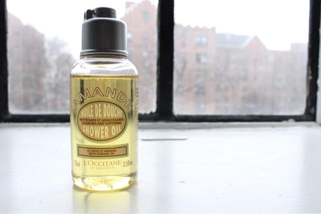 L'Occitane Almond Shower Oil, the perfect winter morning treat!