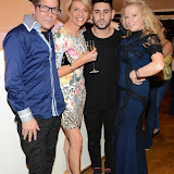 WWW.ENTSIMAGES.COM -  Joe Alvarez and Rhea Elliot Jones   at     Charity catwalk show at Wear it for Autism - Millennium Hotel London Knightsbridge, London October 6th 2014Charity fashion show to celebrate families and individuals affected by autism.                                                 Photo Mobis Photos/OIC 0203 174 1069