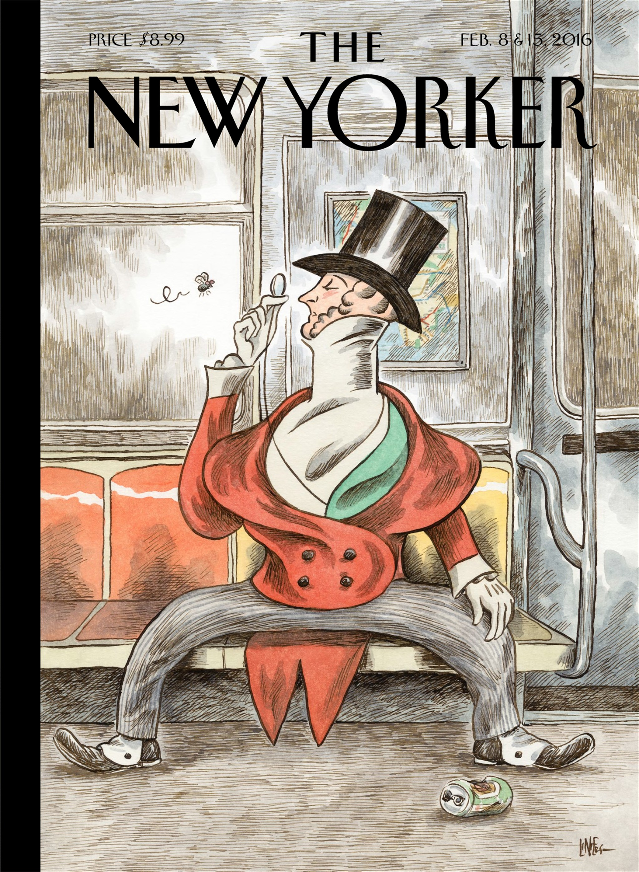 This weeks cover of the New Yorker : graphic_design