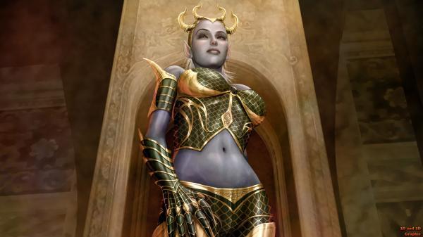 Dark Elven Warrior, Warriors