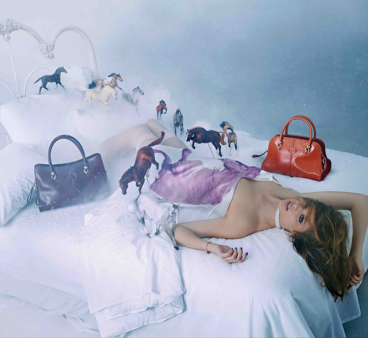 "David LaChapelle pone el toque ""pop"" al bolso Sella de Tod's"