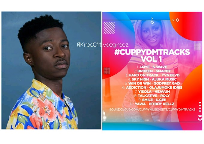 """Win Or Win"" By Kaduna Based Rapper ""Godfrey Gad"" Makes Its Way To Dj Cuppy's #CDMT Mixtape"