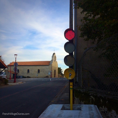 French Village Diaries, Internet speed it up, slow it down road safety