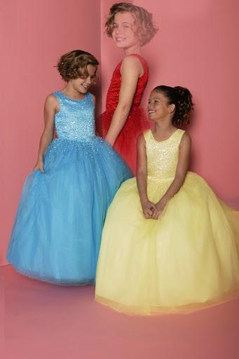 Kinder Pageant Flower Girl Kleid , Mädchen Kleider