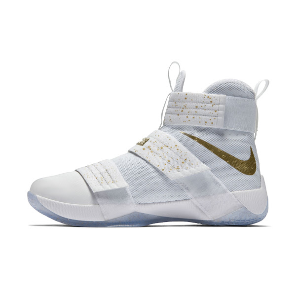 Coming Soon Nike LeBron Soldier 10 Gold Medal