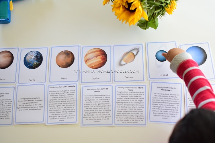 Solar System and Space Definition and Control Cards