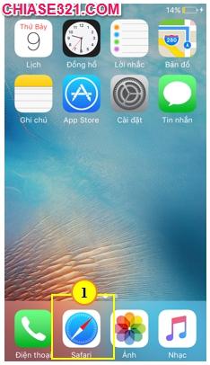 cách tạo tài khoản cho iPhone iPad