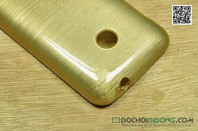 Ốp lưng Nokia Lumia 530 vân kim loại