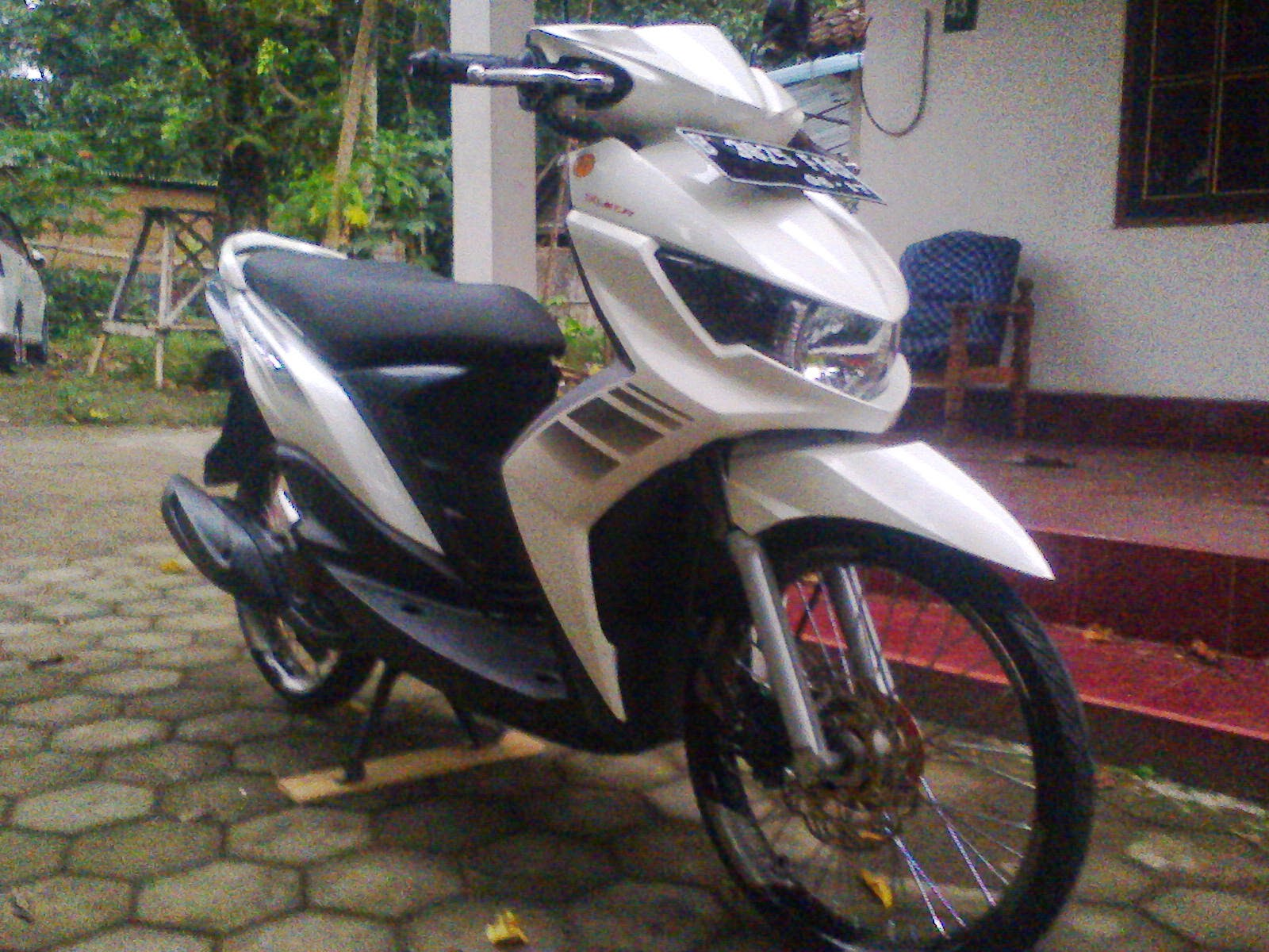Modifikasi Mio Soul Gt Warna Putih
