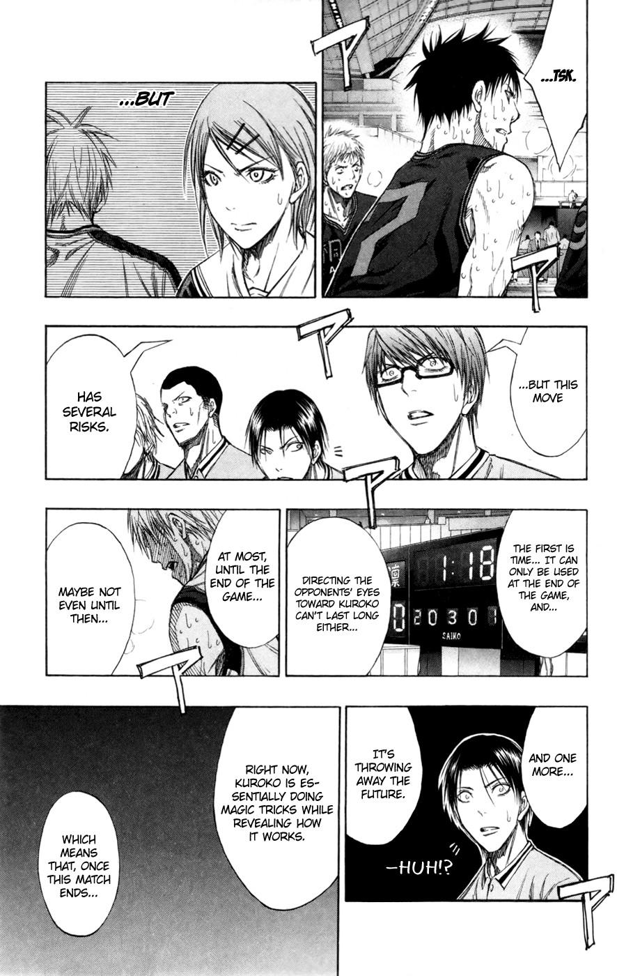 Kuroko no Basket Manga Chapter 129 - Image 10