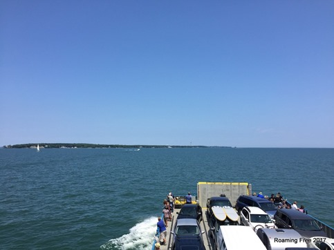 Arriving at Put-in-Bay