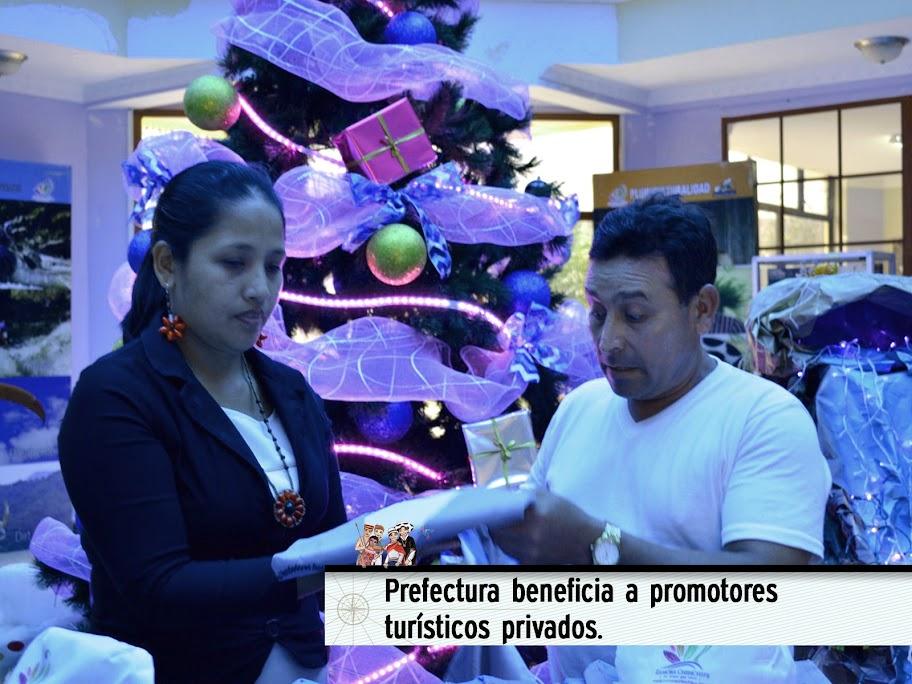 PREFECTURA BENEFICIA A PROMOTORES TURÍSTICOS PRIVADOS.