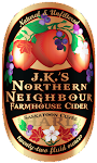 J.K.'s Northern Neighbour Farmhouse Cider Saskatoon Cuvee