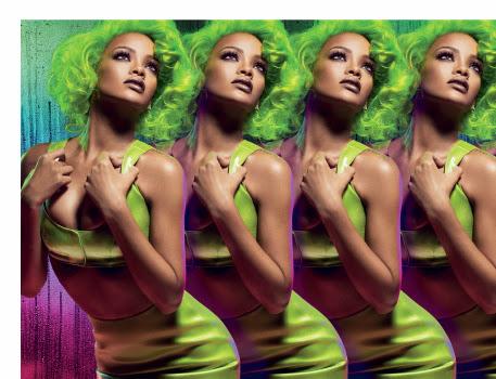 """Rihanna se viste de flúor para anunciar la nueva línea """"Viva Glam"""" de MAC"""