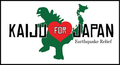 Kaiju for Japan Earthquake Relief Fundraiser