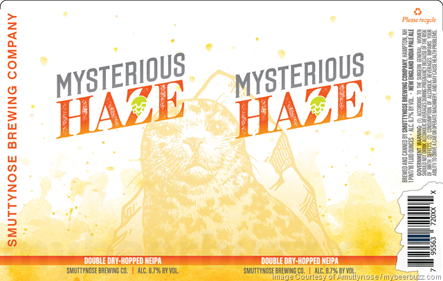Smuttynose Adding Mysterious Haze Cans