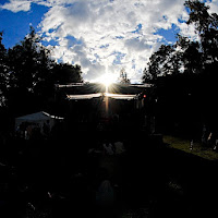 Sonne Bühne