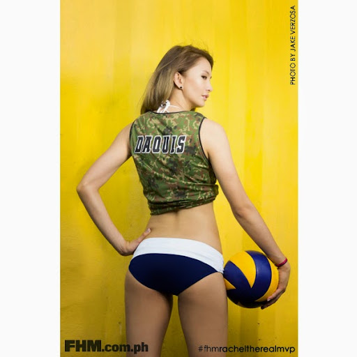 Rachel Anne Daquis on cover of FHM October 2014 Issue 03-27-09-2014