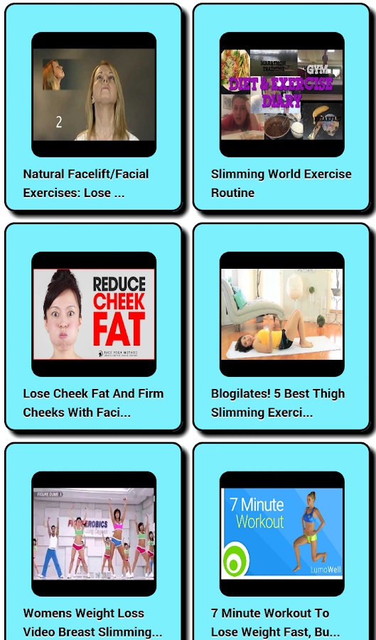 Slimming Exercises Android Apps On Google Play