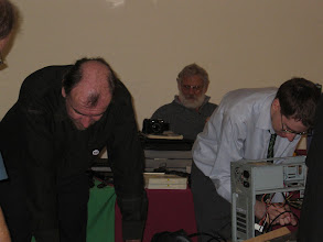Photo: (foreground) Simon N Goodwin and Tarquin Mills