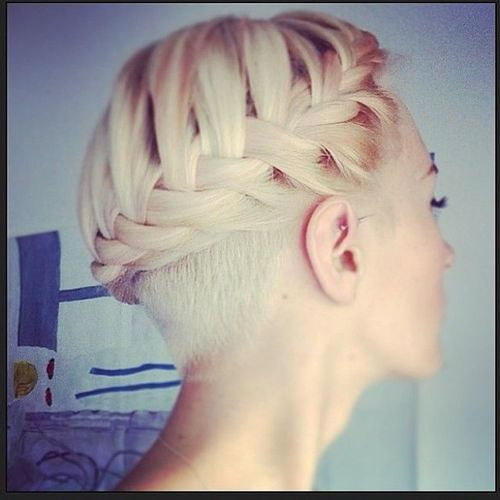 Braid for Short Hair :Style French Style Newest Ideas 2017 3
