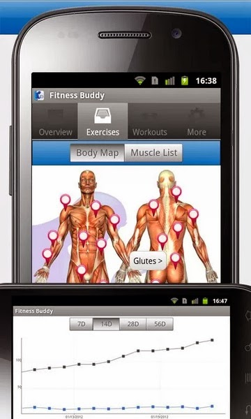fitness buddy android smart app
