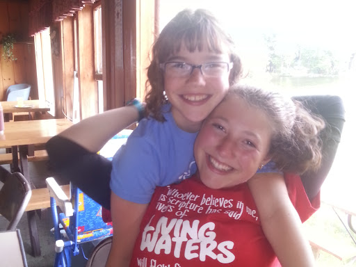 I love these smiles! Two of my daughters, Juliana, and Vivienne.