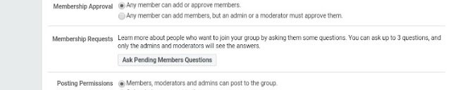 Facebook Now Lets Group Admins Set Interview Questions For Prospective Members 2