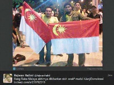 Isu bendera: Mengaku tidak wakili parti