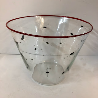 J. Persson Art Glass Bowl
