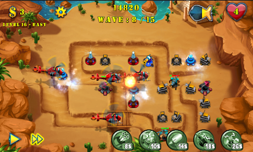 Tower Defense Evolution 2 v1.3 (Mod Money)