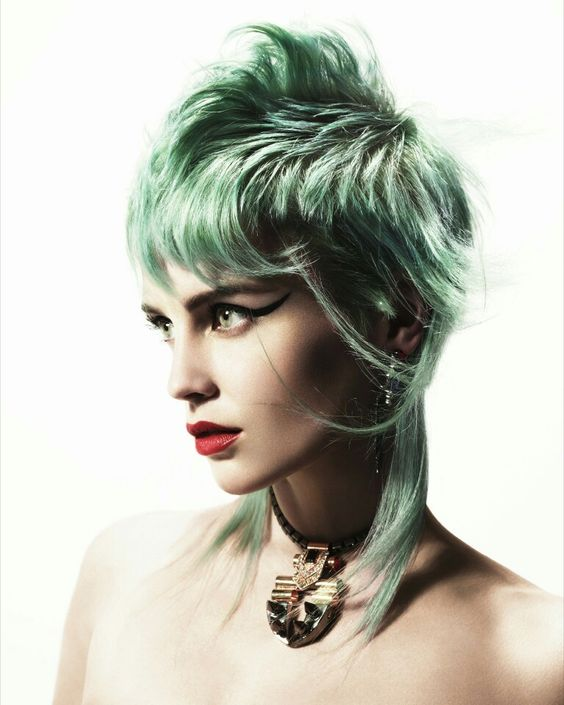 Hair:short hairstyles with different colors for 2018 15