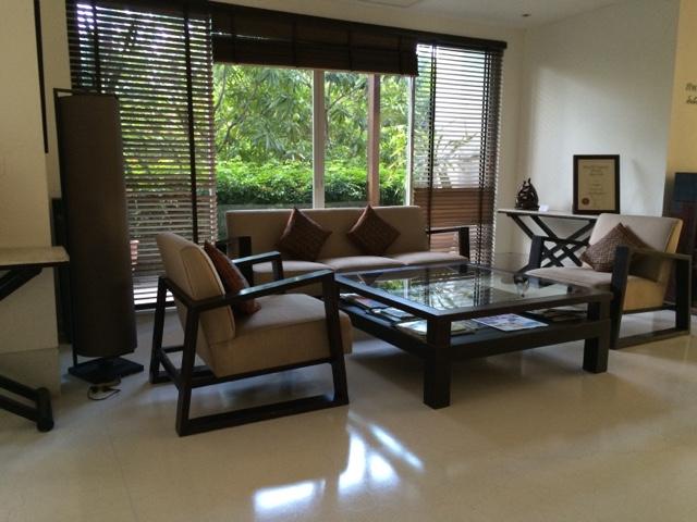 reception at yaiya resorts, hua hin, thailand