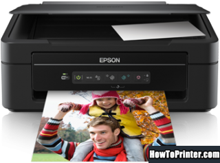 Reset Epson XP-206 printer use Epson reset software