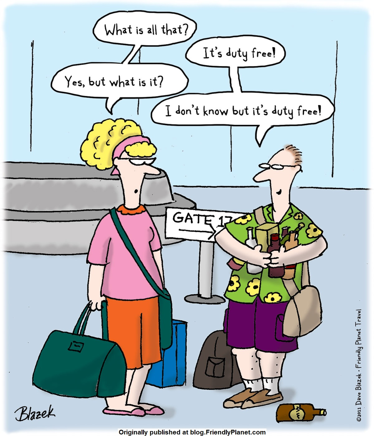 Friday Funny - Friendly Planet Travel