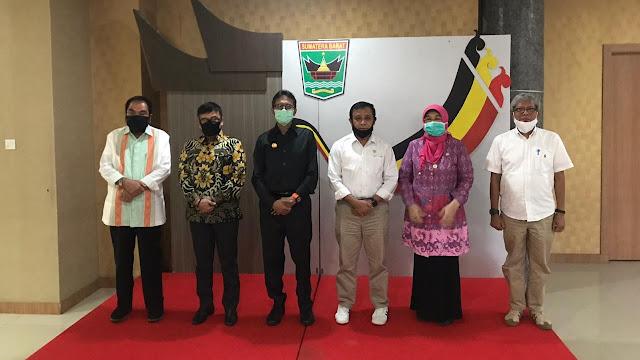 Empat Senator DPD RI Gelar Audiensi Dengan Gubernur Sumbar.