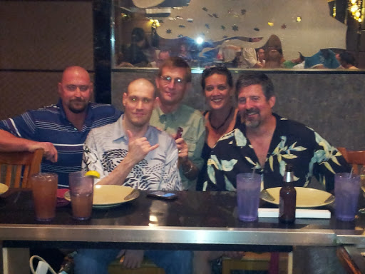 Ron, Dave, Tim, Donna & Steve at the  August 10th 2013 Ohana Dinner