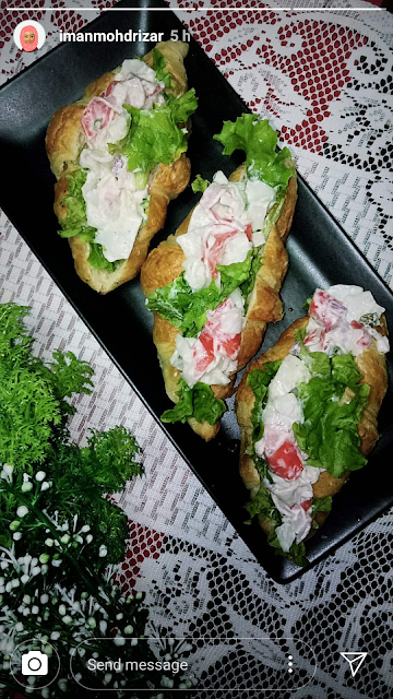 CRAB MAYO SANDWICH